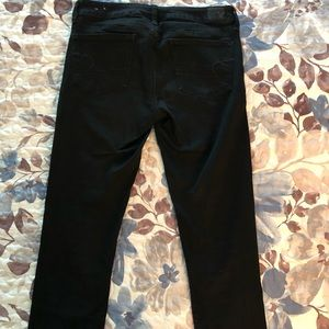 American Eagle jeggings black size 8
